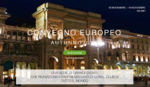 Conferenza Coral Club a Milano novembre 2017