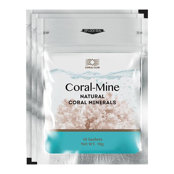 Protezione da virus malattie con coral mine