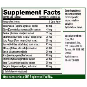 ParaFight antiparasitario ingredienti
