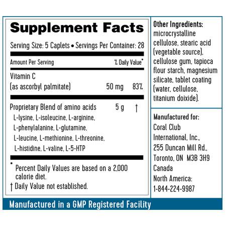 Protivity ingredienti composizione