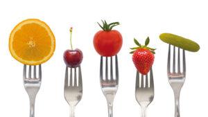 Nutrizione d'organismo giusto il 4 passo alla salute