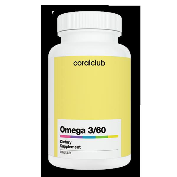 Omega 3/60 integratore alimentare essenziale
