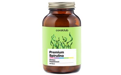 Spirulina fonte di proteina aminoacidi Coral Club