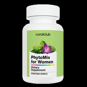 Phytomix per le donne di Coral Club