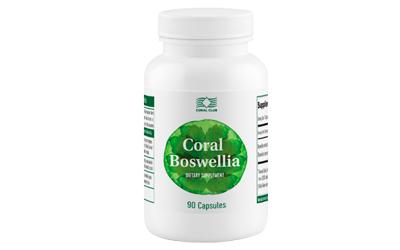 Coral Boswelia favorisce la riduzione di dolori ed edema