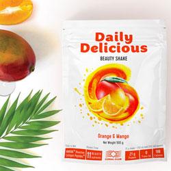 Cocktail di bellezza gusto mango