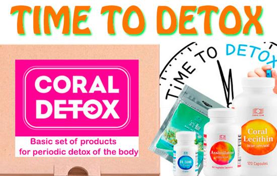 Coral Detox base del recupero di salute