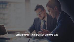 come trovare sponsor in coral club