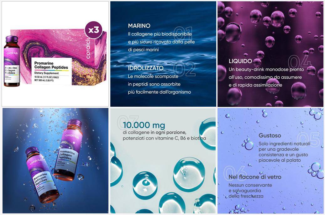 Promarine collagene di bellezza